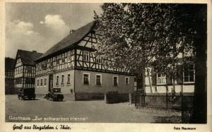 """Gaststätte """"Zur schwarzen Henne""""<br /> Dingsleben"""